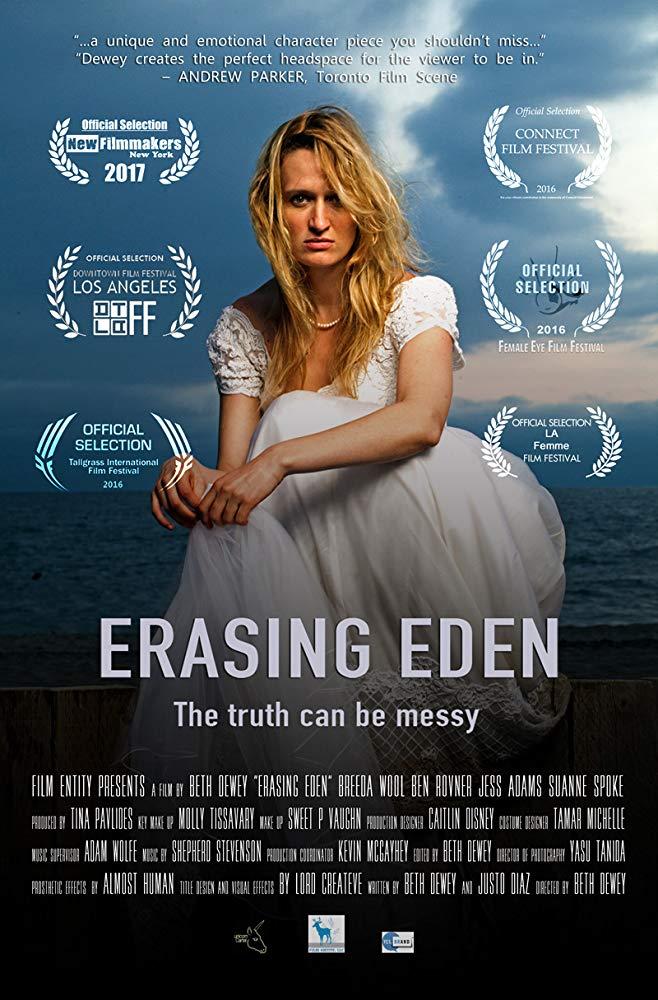affiche du film Erasing  Eden