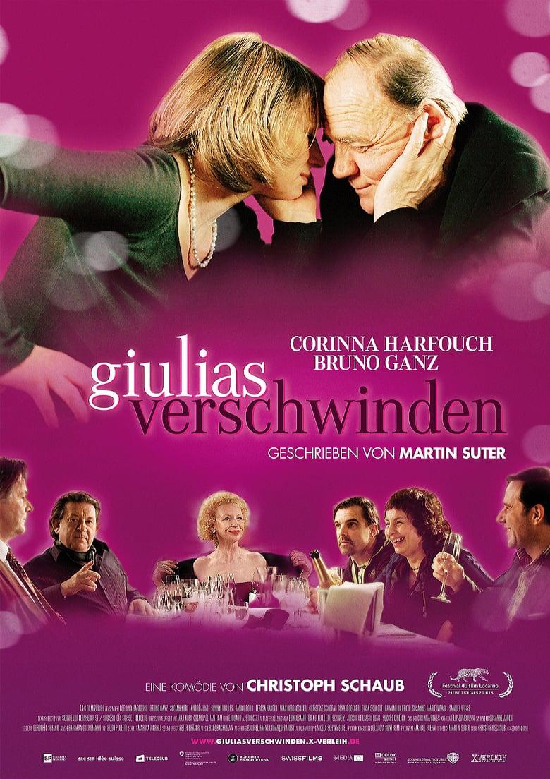 affiche du film La disparition de Giulia