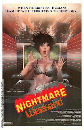 affiche du film Nightmare Weekend