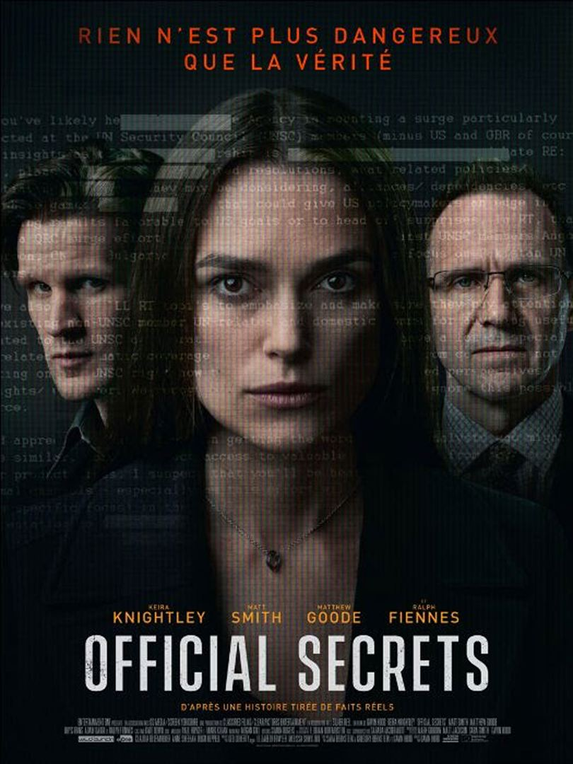 affiche du film Official Secrets
