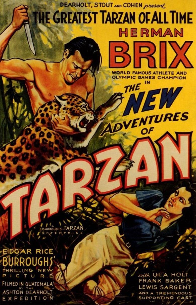 affiche du film Les nouvelles aventures de Tarzan