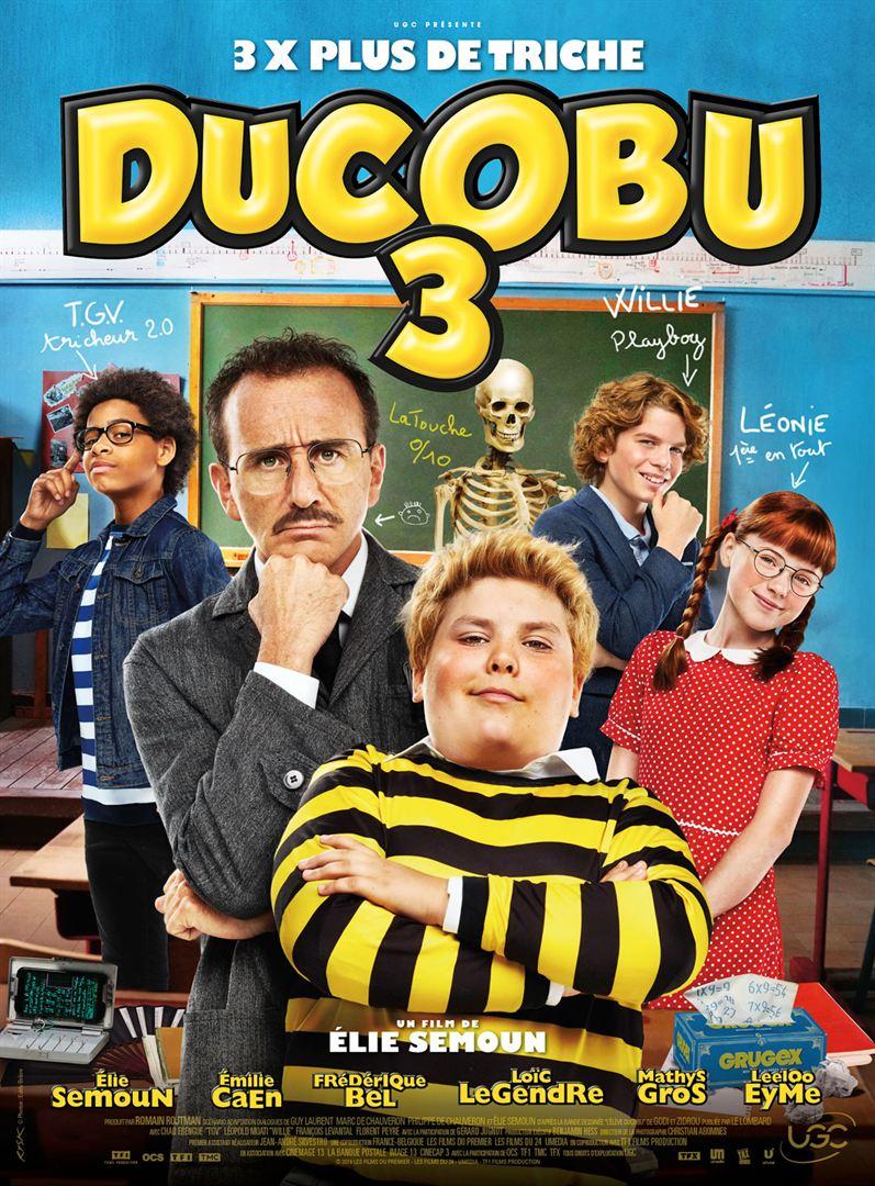 affiche du film Ducobu 3