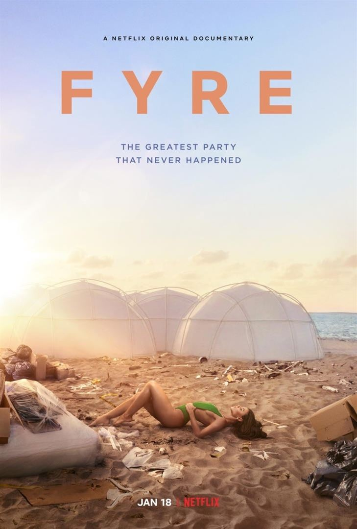 affiche du film FYRE: The Greatest Party That Never Happened