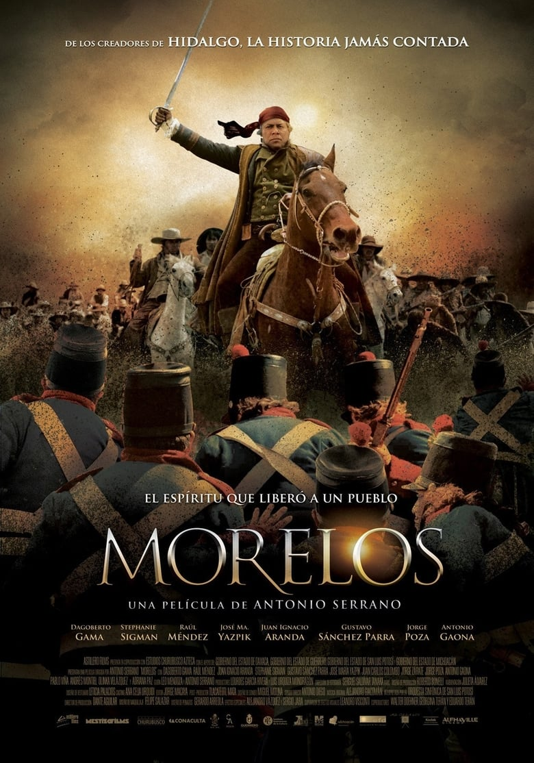 affiche du film Morelos
