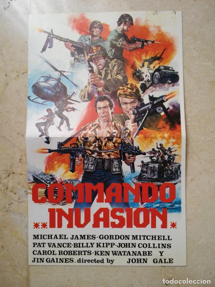 affiche du film Commando Invasion