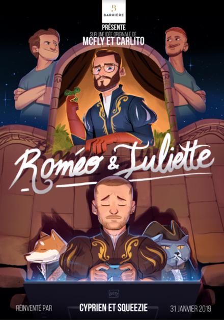 affiche du film Roméo & Juliette