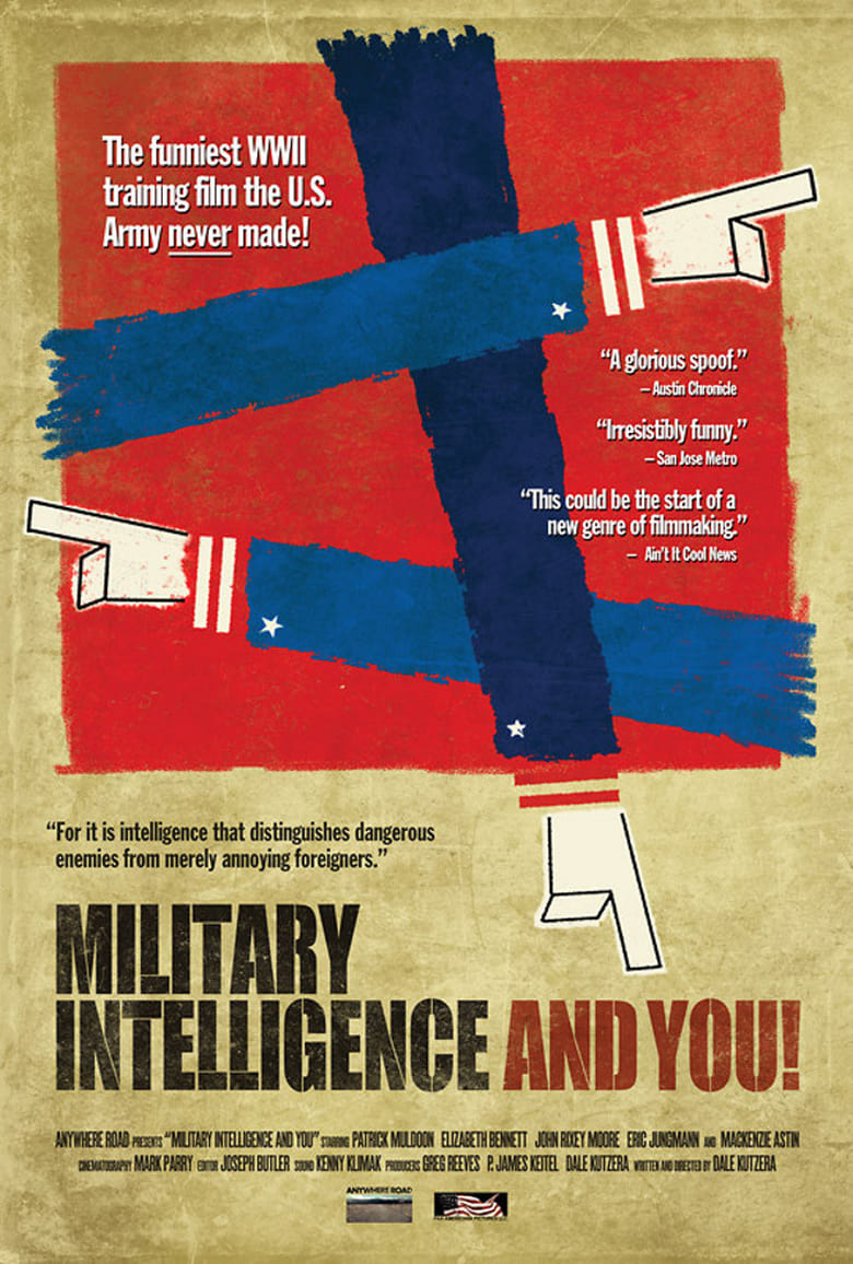 affiche du film Military Intelligence and You!