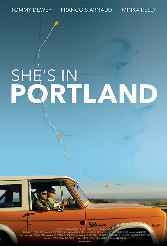 affiche du film She's in Portland