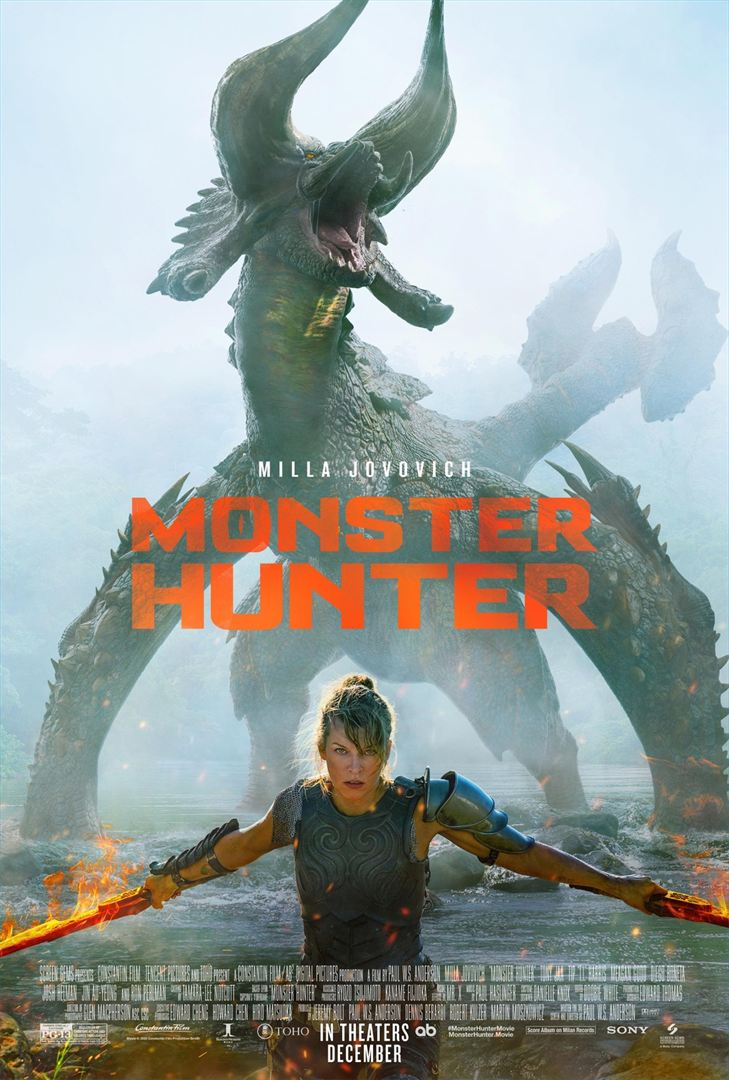 affiche du film Monster Hunter