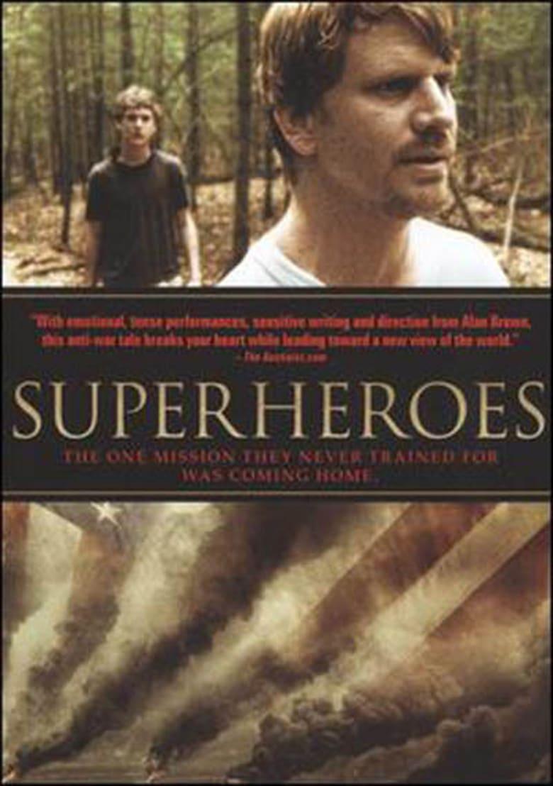 affiche du film Superheroes