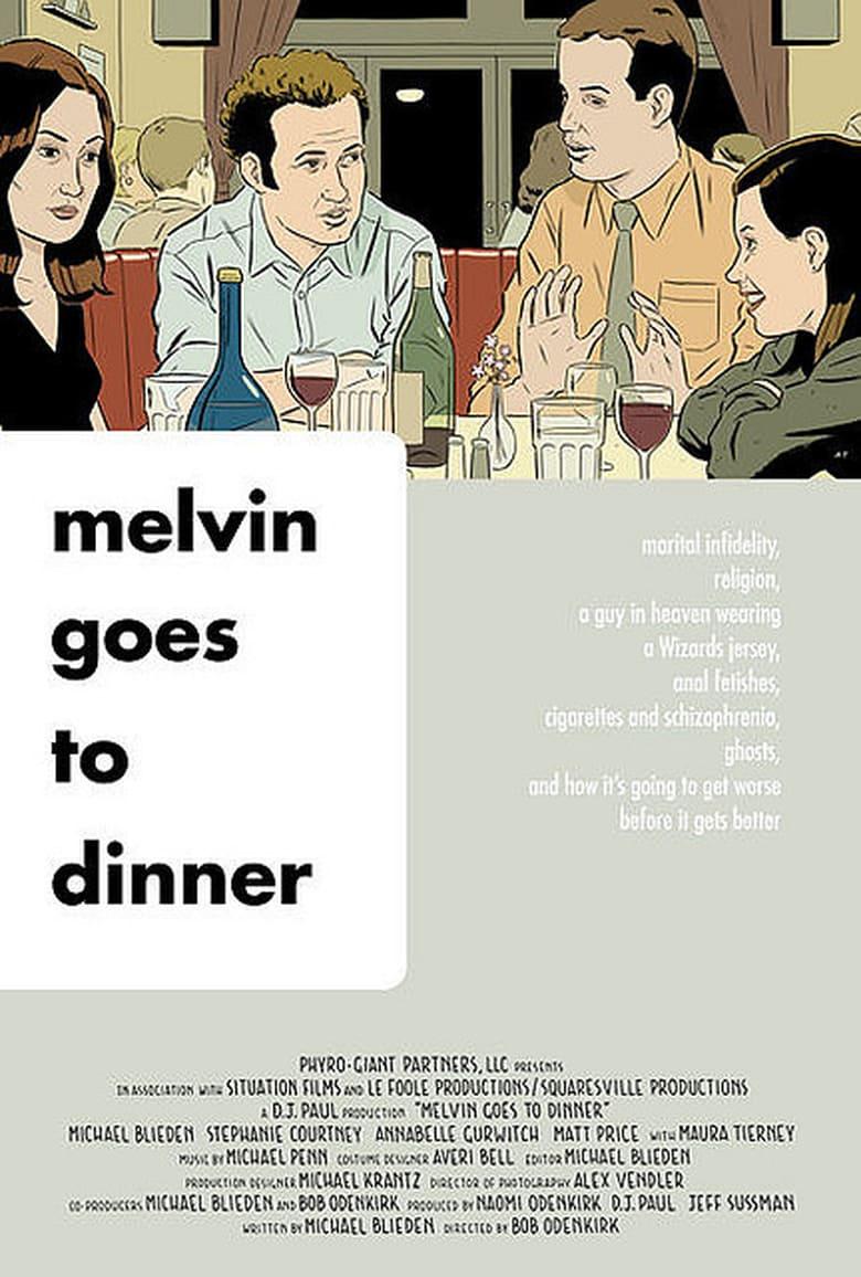 affiche du film Melvin Goes to Dinner