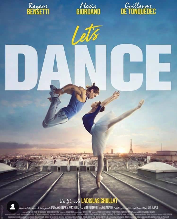 affiche du film Let's Dance