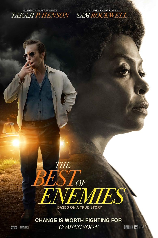 affiche du film The Best of Enemies