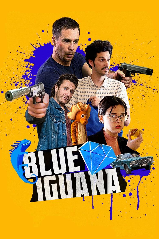 affiche du film Blue Iguana