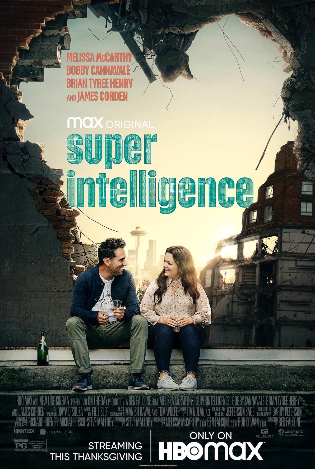 affiche du film Superintelligence