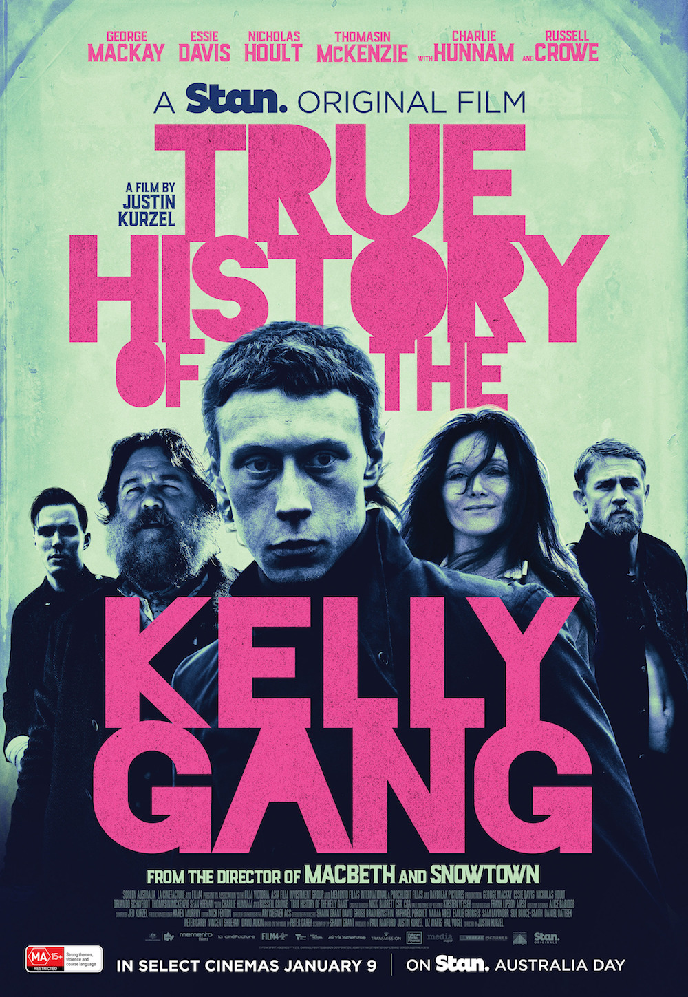 affiche du film The True History of the Kelly Gang