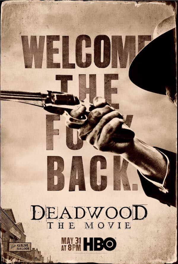 affiche du film Deadwood : le film (TV)