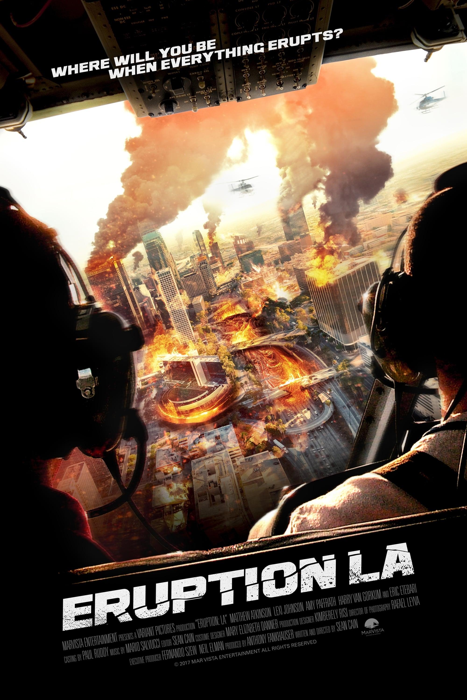 affiche du film Eruption: LA