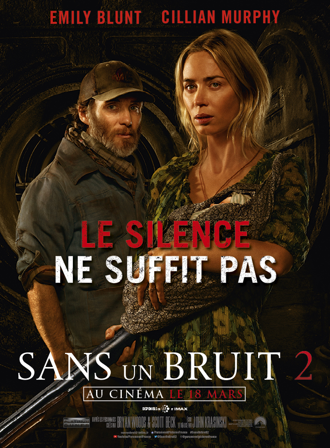 affiche du film Sans un bruit 2