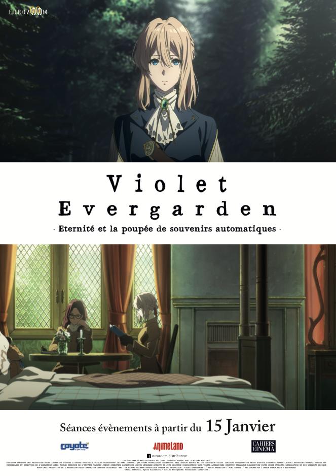 affiche du film Violet Evergarden : Éternité et la Poupée de souvenirs automatiques