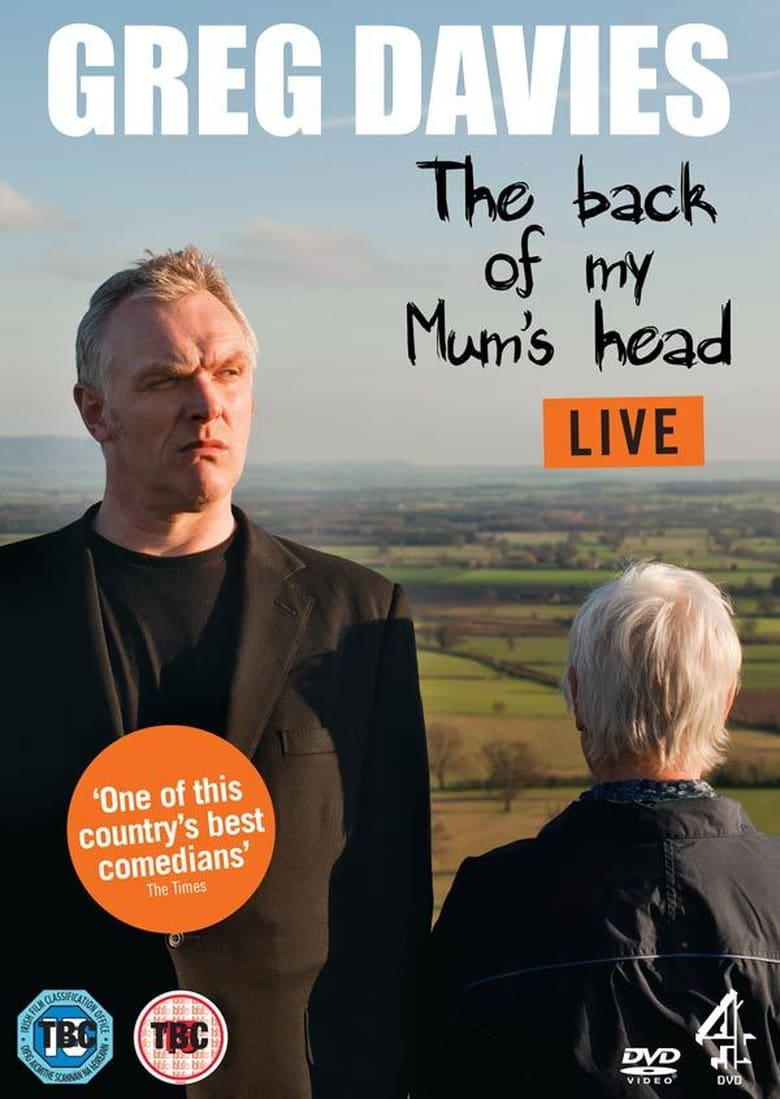 affiche du film Greg Davies Live: The Back Of My Mum's Head