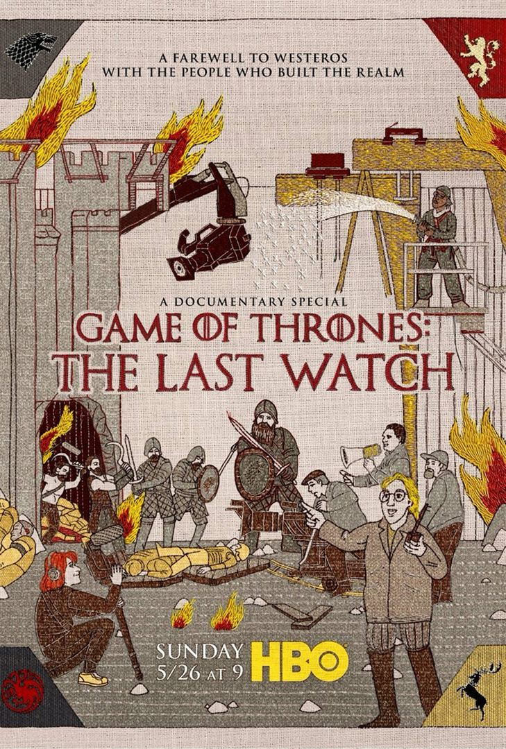 affiche du film Game of Thrones: The Last Watch (TV)