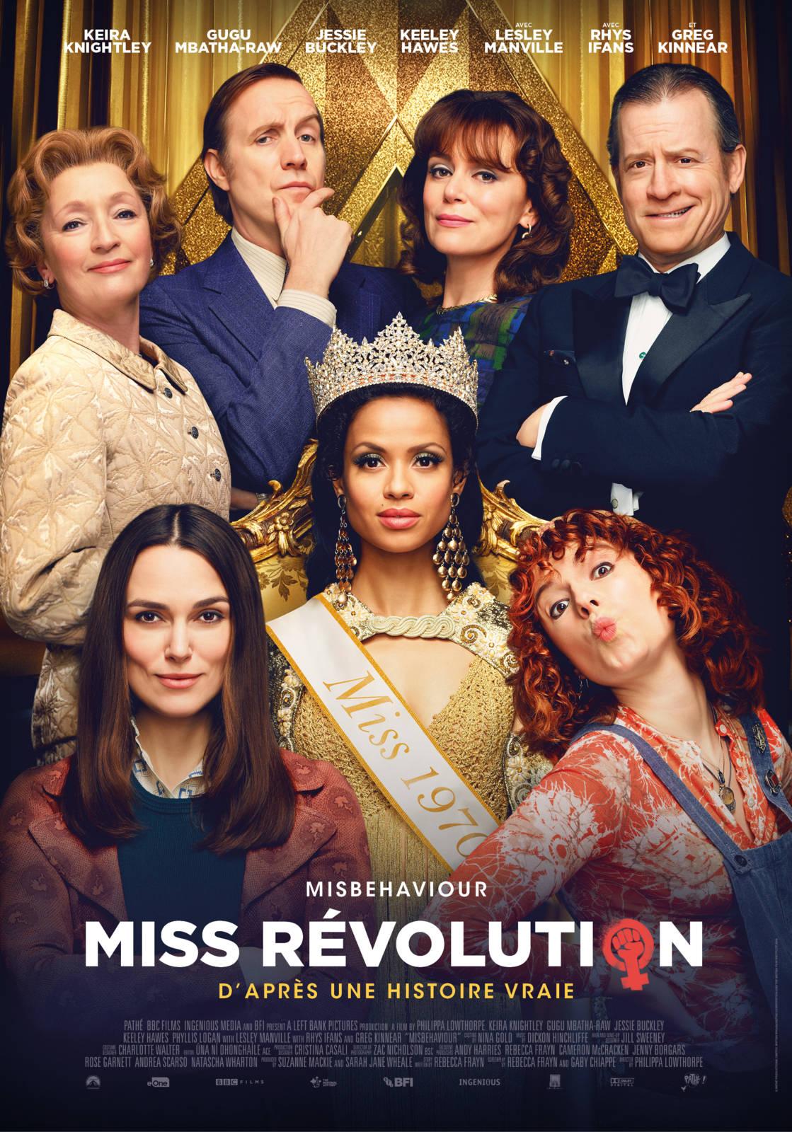 affiche du film Miss Revolution