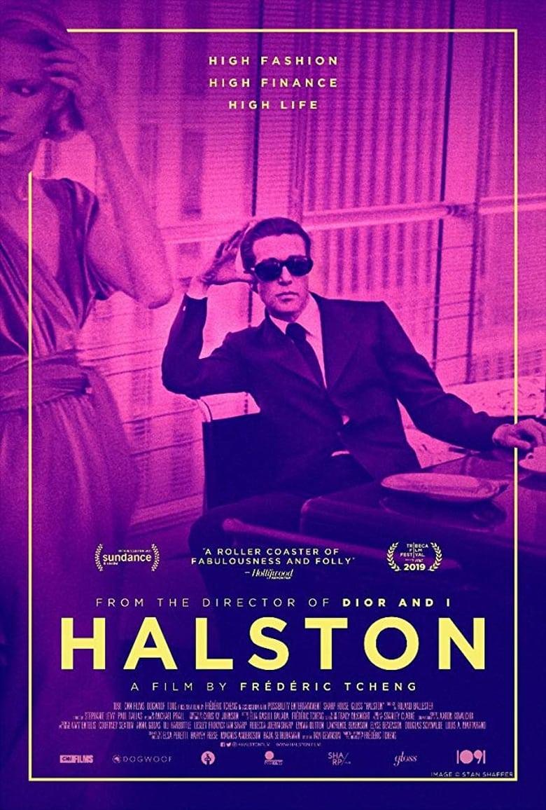 affiche du film Halston