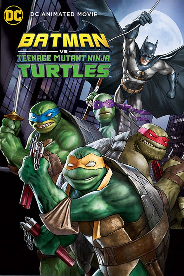 affiche du film Batman vs. Teenage Mutant Ninja Turtles