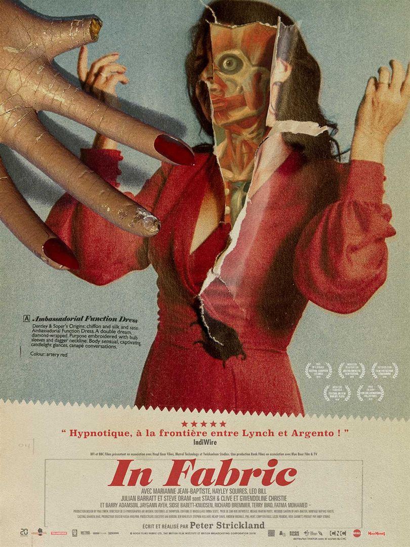 affiche du film In Fabric