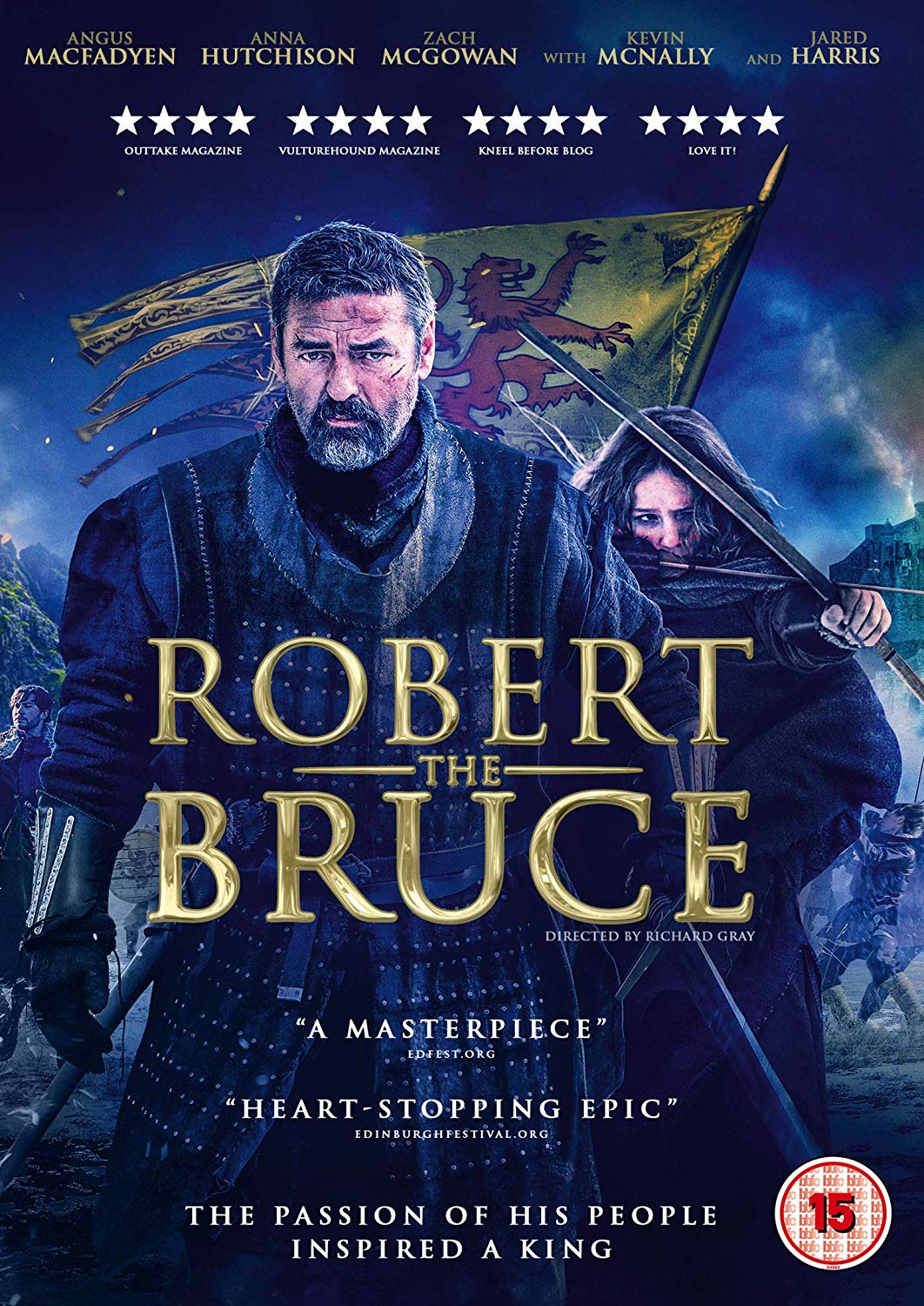affiche du film Robert The Bruce