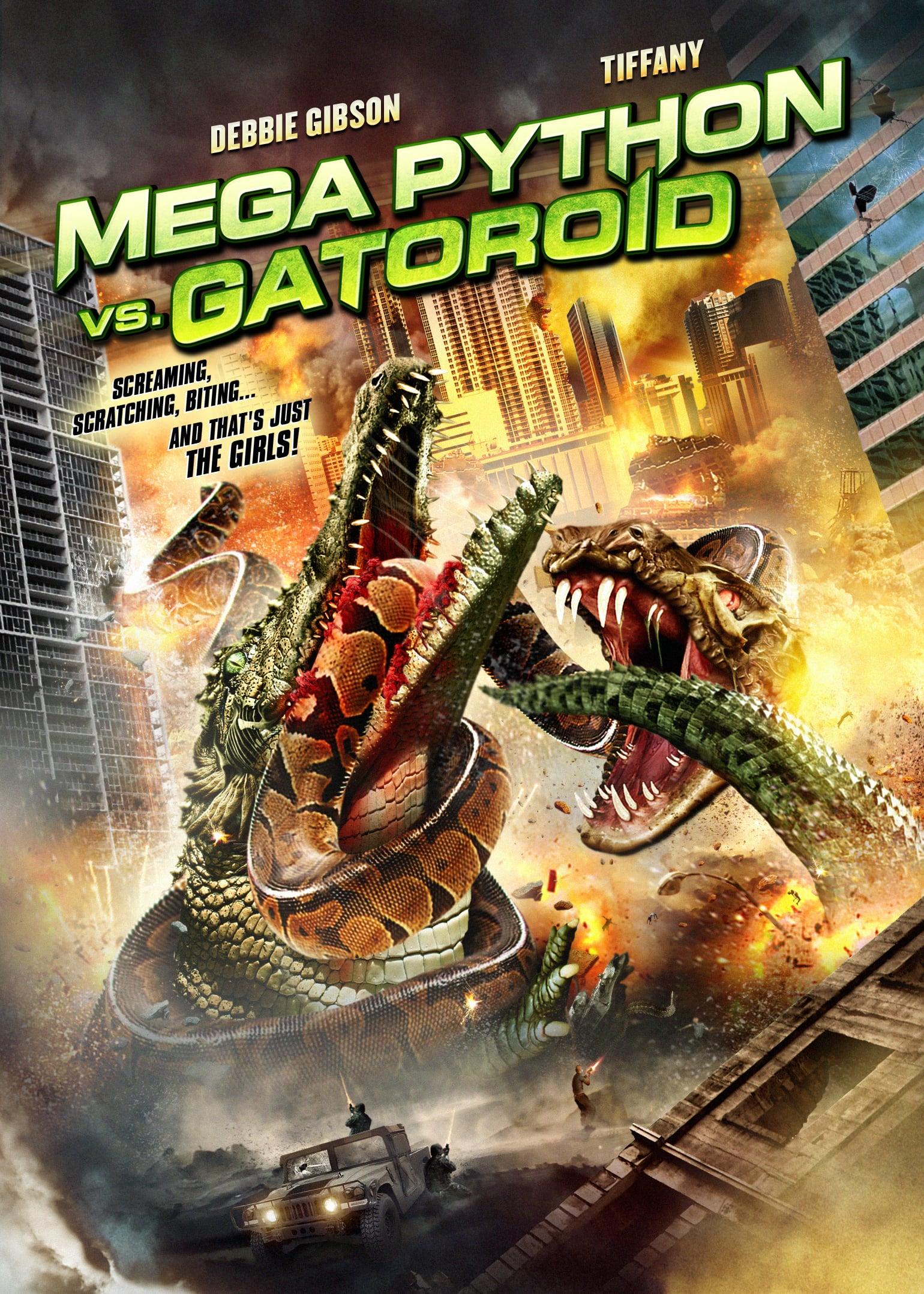 affiche du film Mega Python vs. Gatoroïd (TV)