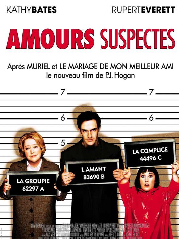 affiche du film Amours suspectes