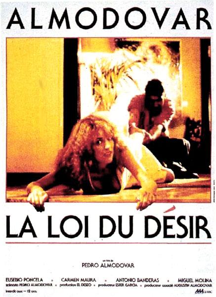 affiche du film La loi du désir