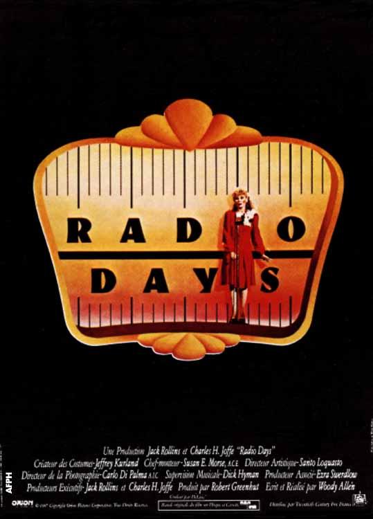 affiche du film Radio Days