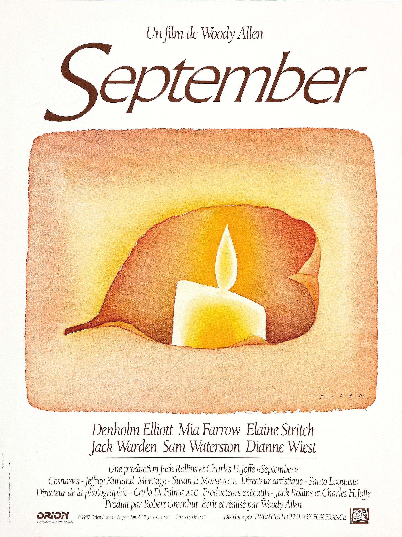 affiche du film September (1987)