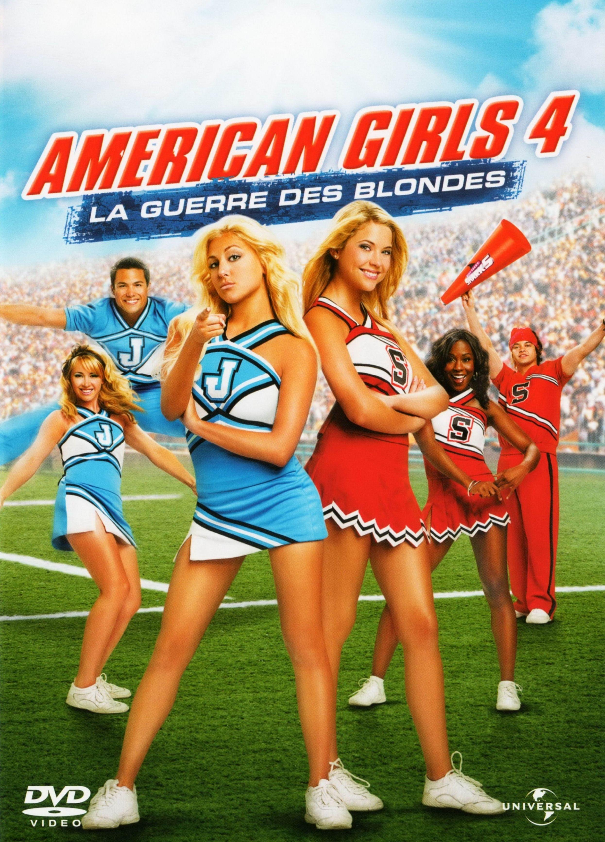 affiche du film American Girls 4 : La guerre des blondes
