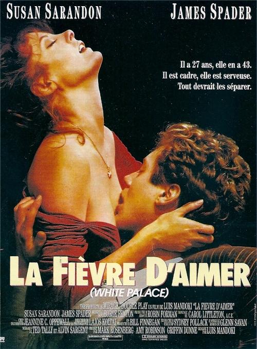 affiche du film La fièvre d'aimer