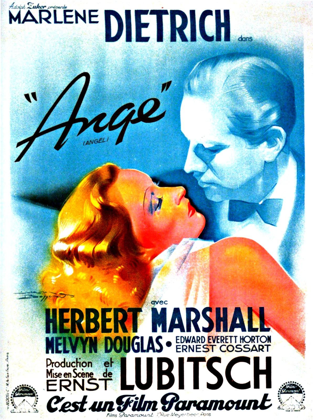 affiche du film Ange