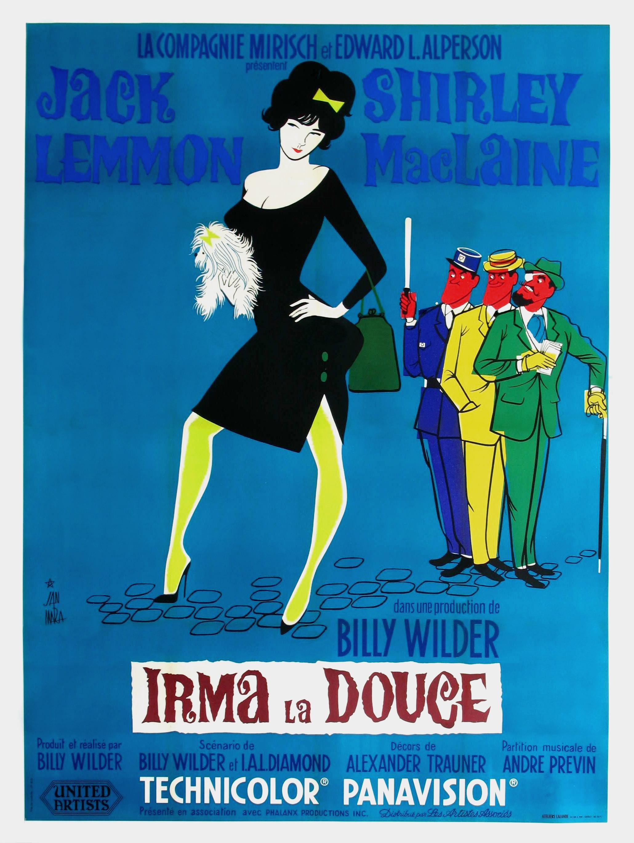affiche du film Irma la Douce