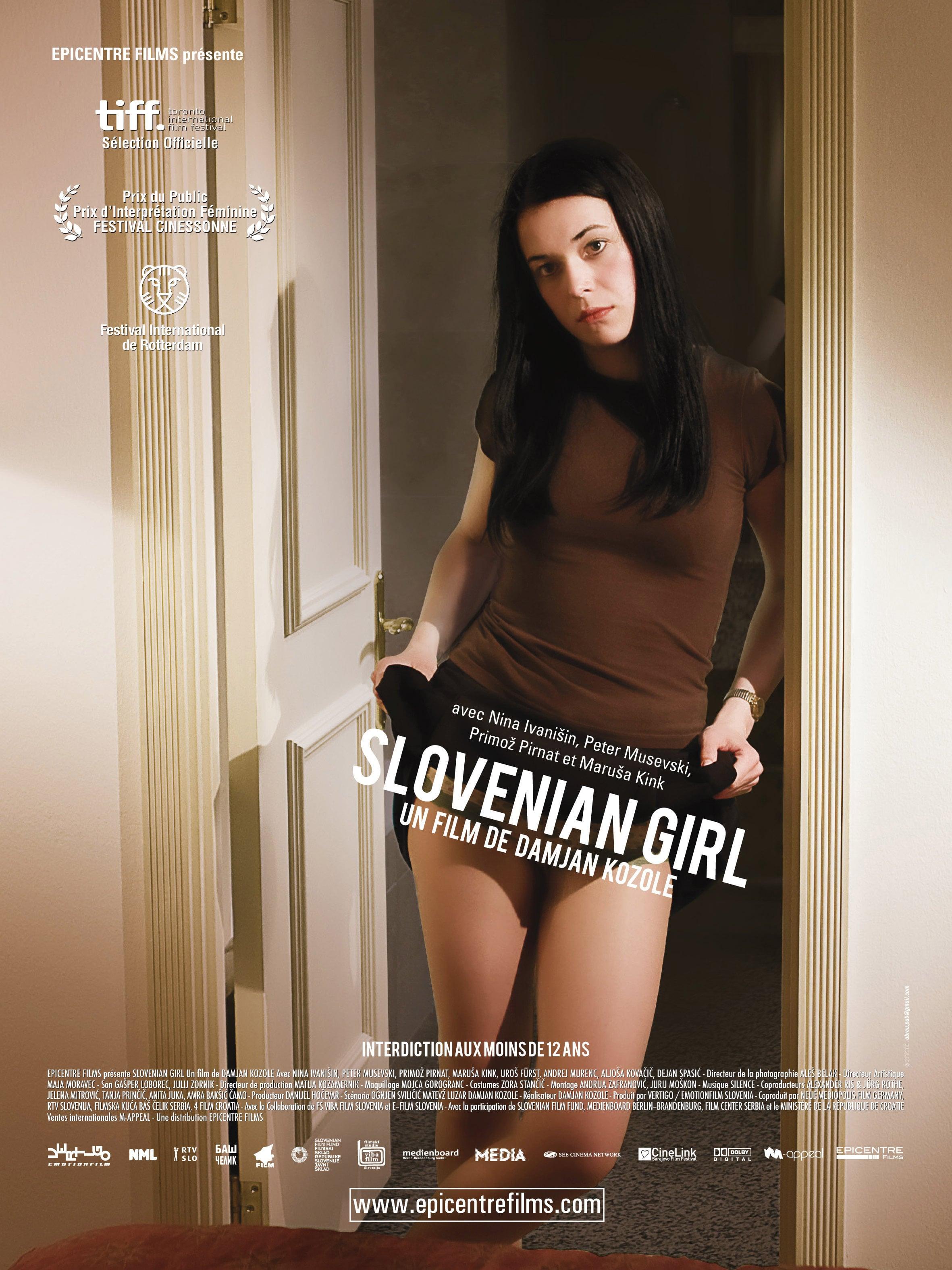 affiche du film Slovenian Girl