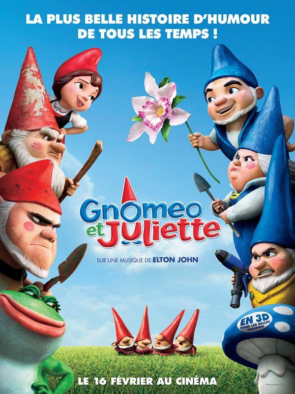 affiche du film Gnomeo et Juliette