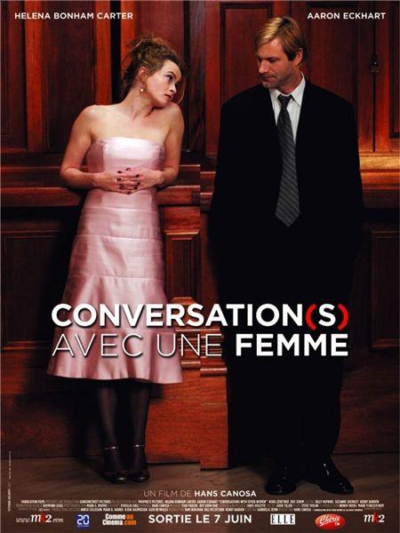 affiche du film Conversation(s) avec une femme