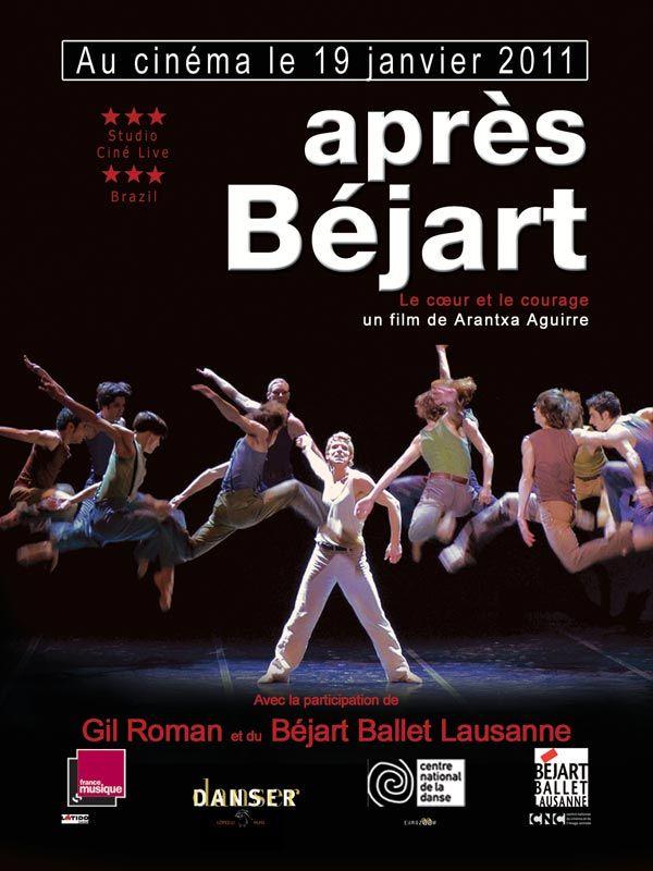 affiche du film Après Béjart, le cœur et le courage
