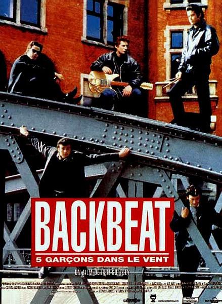 affiche du film Backbeat, 5 garçons dans le vent