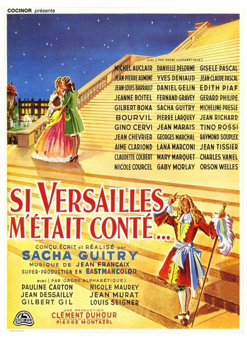 affiche du film Si Versailles m'était conté...