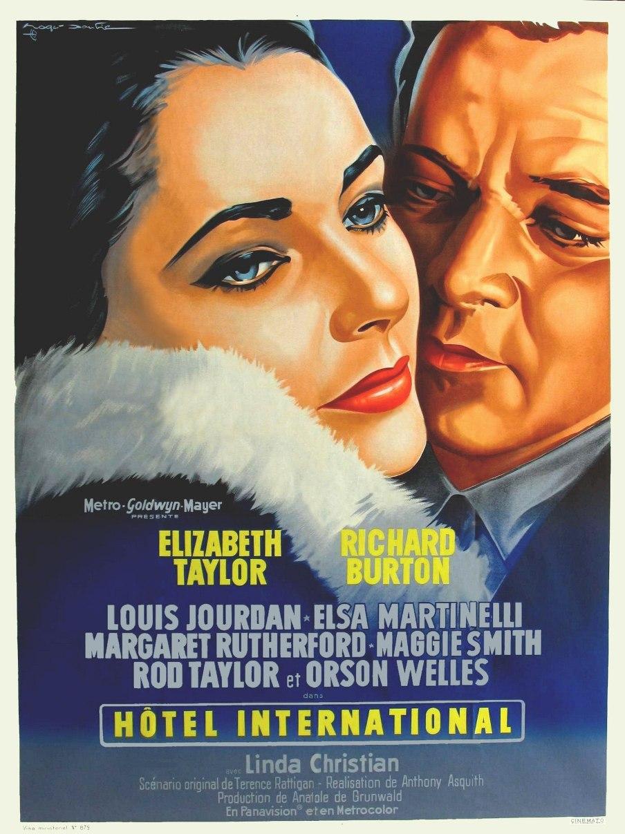 affiche du film Hôtel international