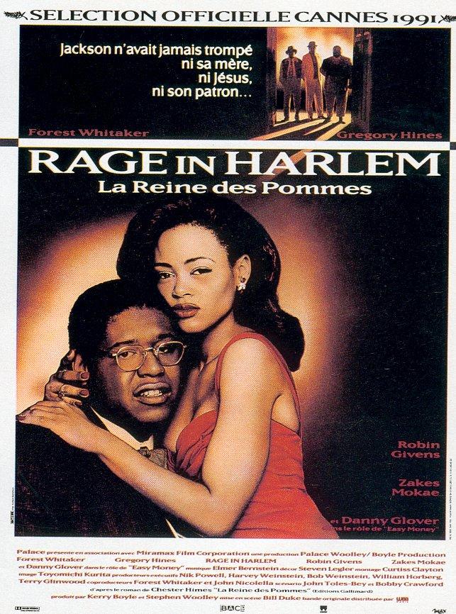 affiche du film A Rage in Harlem: La reine des pommes