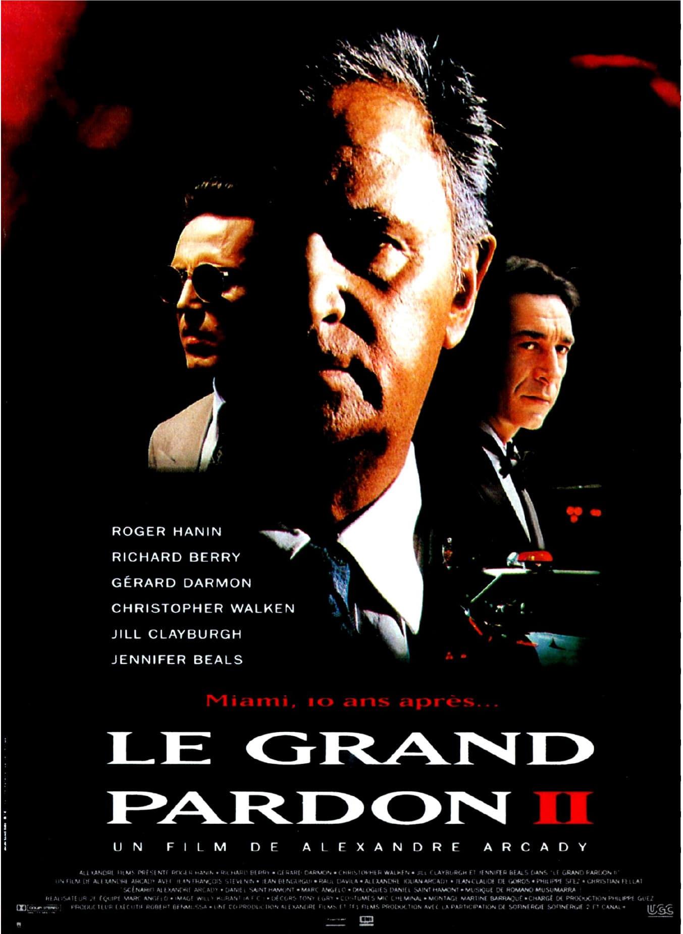 affiche du film Le Grand Pardon II