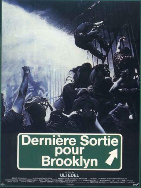affiche du film Dernière sortie pour Brooklyn